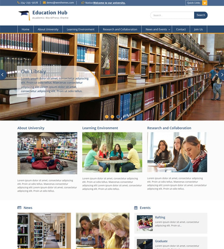 Education Hub – WEN Themes