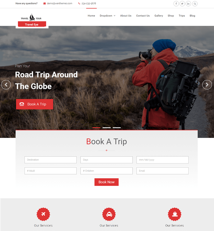 Travel Eye – WEN Themes