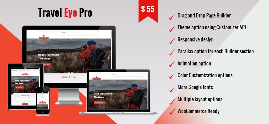 Travel Eye Pro: WordPress Travel Theme is released – WEN Themes
