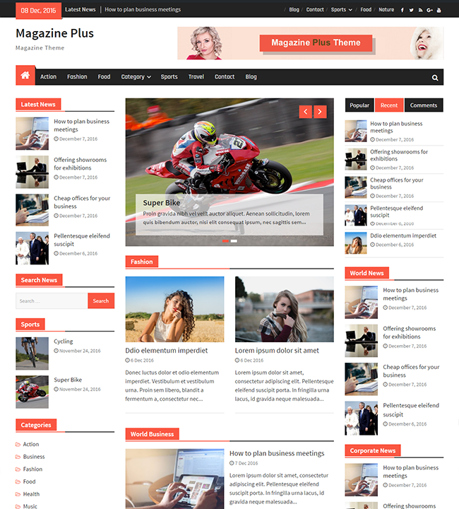 Magazine Plus – WEN Themes
