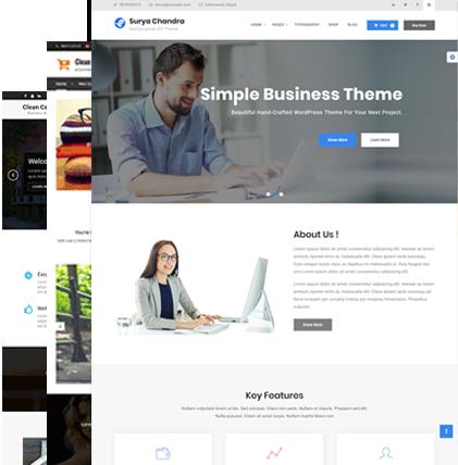 free and premium elegant fresh wordpress themes and plugins