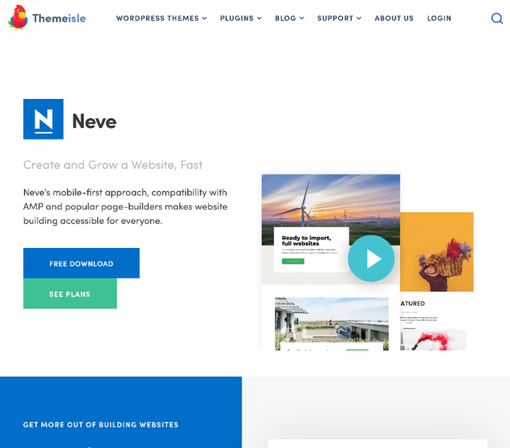 Neve - Best Free Business WordPress Themes and Templates 2020