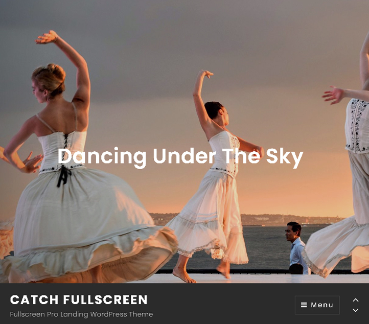 Catch Fullscreen - Best Free Business WordPress Themes and Templates 2020