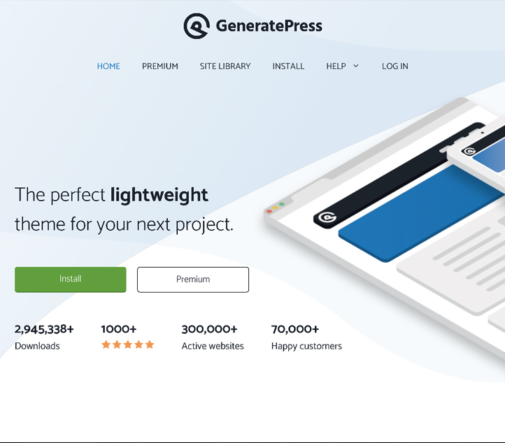 GeneratePress - Best Free Business WordPress Themes and Templates 2020