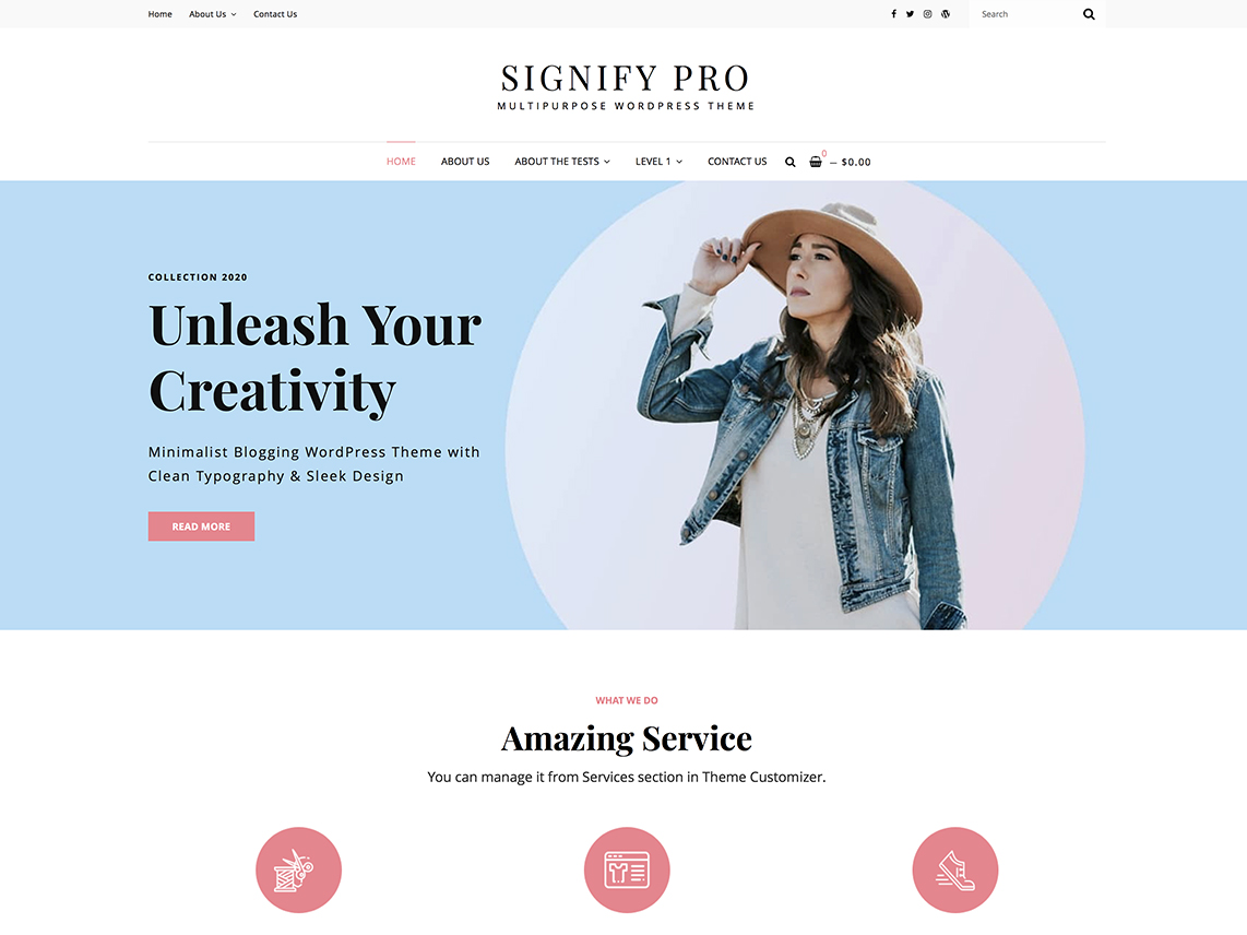 Signify Pro -Best Premium Education WordPress Themes and Templates 2020