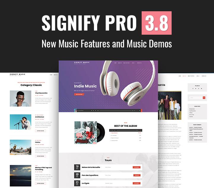 Signify Pro 3.8 - Multipurpose Corporate WordPress Theme